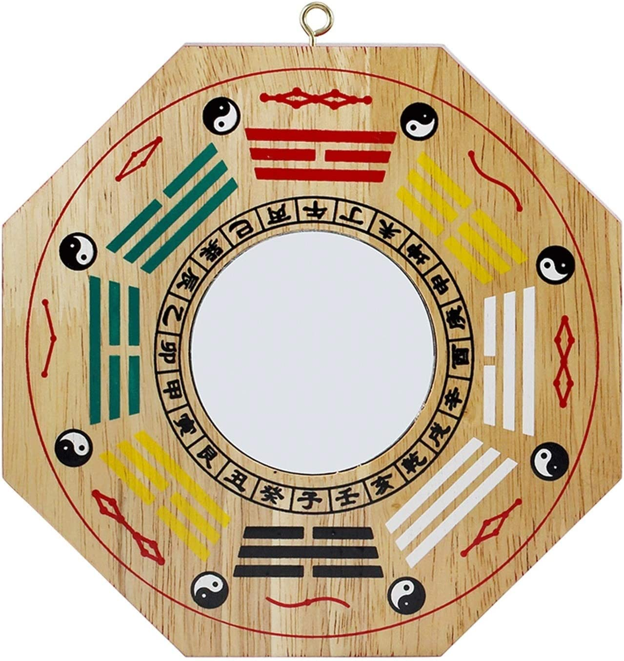 XXXXW Direct store Feng Shui Mirror Bagua of Natural Be super welcome Peach Woodï¼ Made