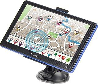 Sistema de navegación GPS para camiones Xgody 886 7 pulgadas pantalla táctil capacitiva SAT NAV navegador para coche con mapas de EE. UU. actualizado de la velocidad de apoyo y advertencia de luz roja