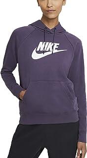 Nike Sweat à capuche pour femme avec logo violet code BV4126-574
