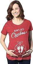 """تي شيرت حمل مطبوع عليه عبارة """"Bumps First Christmas Ornament Pumps"""