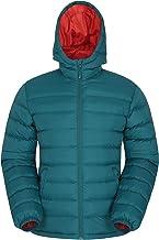Mountain Warehouse Herenjas Seasons – gewatteerde jas, warm, licht, regenjas, vulling van microvezel – ideaal voor de winter