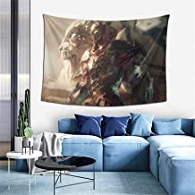 JOHN AHMED League of Legends Zed Wall Hanging Art Tapestry Home Deco Wall Art Decoration for Bedroom Living Room Dorm Picn...