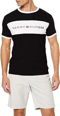 Tommy Hilfiger CN SS Tee Logo Flag Chemise Homme