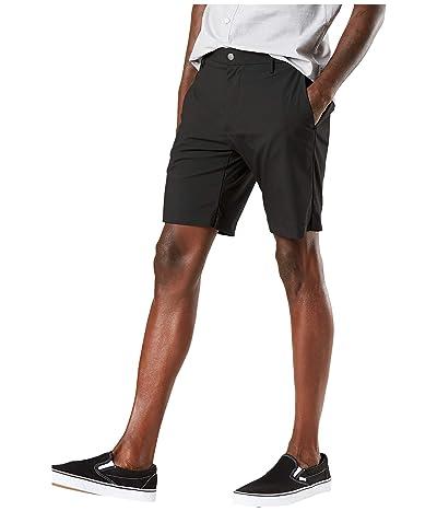 Dockers Performance Supreme Flex Tech Shorts (Black) Men