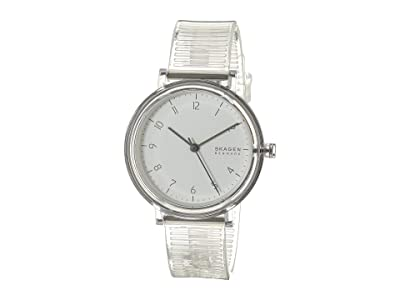 Skagen Aaren Transparent Three-Hand Watch (SKW2858 Clear Silicone) Watches