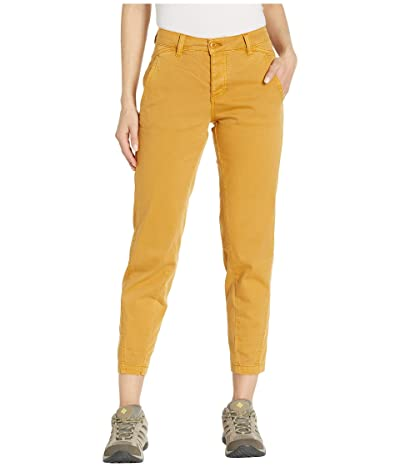 Prana Janessa Pants (Light Curry) Women