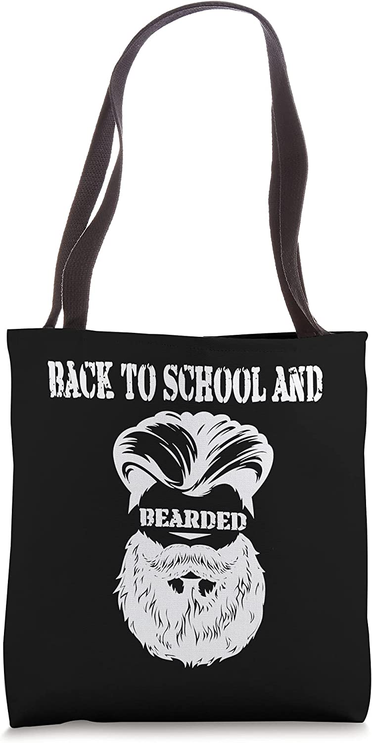 This Teacher Is Bearded Lowest price challenge And New life School Tote Back To Bag