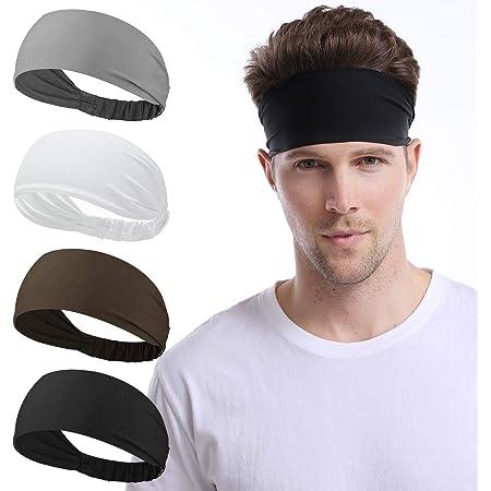 Mens Headband Headbands for Men /& Women Dri-Fit Sweat Band Workout Headband