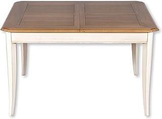 GONTIER Table carrée Extensible en chêne Massif 130x130 cm