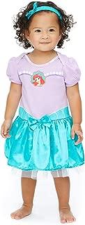 Disney Princess Baby Girls Costume Bodysuit Dress & Headband Set