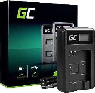 Green Cell® CB-2LY CB-2LYE Cargador para Canon NB-6LH Batería y D30 S90 S95 S120 SX240 HS SX270 HS SX500 is SX510 HS SX530 HS SX600 HS SX610 HS SX700 HS SX710 HS Cámaras (2.5W 4.2V 0.6A Negro)