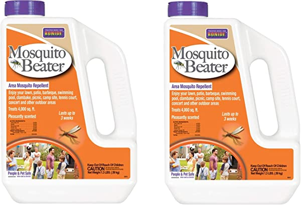 Bonide Mosquito Beater Natural Granules 1 3 Lbs Pack Of 2