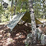 5ive Star Gear Unisex Weather Cover Shelter/Rain Fly, Olive Drab, 9.5' 9.5'