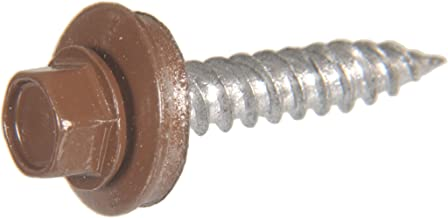 The Hillman Group 35116 Hex Washer Head Sheet Metal Screw 12 x 2 50-Pack