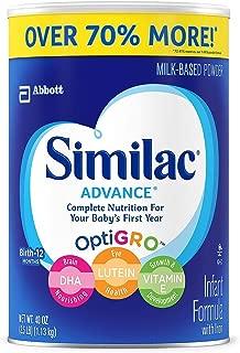 Product of Similac Advance Infant Formula (40 Oz.) - Vitamins [Bulk Savings]