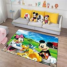 Alfombras Salon Mickey mouse de dibujos animados 120x200cm Diseño Moderna Geométrica Grande Tapete para Piso Dormitorio Decoración del Hogar Comedor Niños Tradicional Suaves Antideslizante Rugs D3429