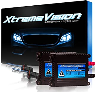 XtremeVision 35W Xenon HID Lights with Premium Slim Ballast - 9006 8000K - 8K Medium Blue - 2 Year Warranty