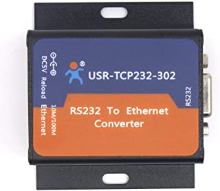 USR 10/20 Pcs USR-TCP232-302 Tiny Size Serial RS232 to Ethernet TCP IP Server Module Ethernet Converter Support DHCP/DNS w...