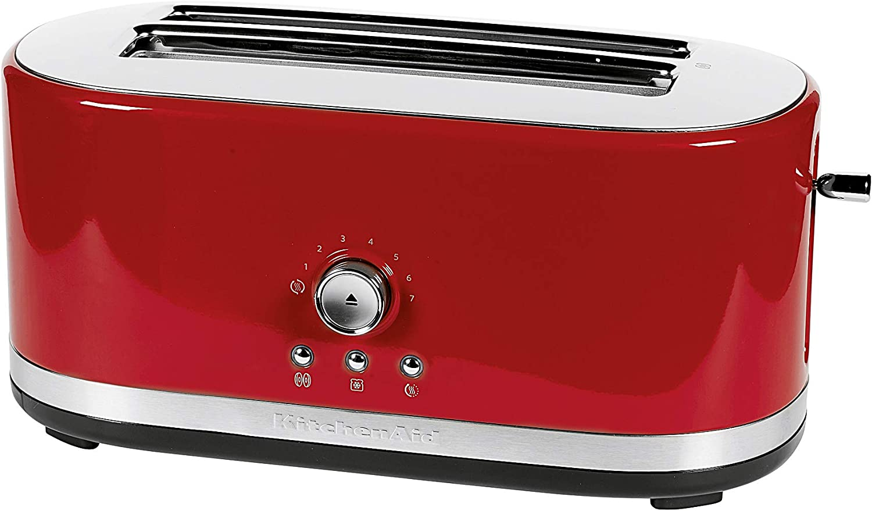 KitchenAid 5KMT4116 5KMT4116-Grille-pain, 1800 W, Rouge Rouge