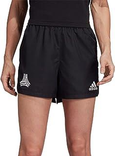 adidas Tan Shorts- Women's Soccer M Black/Red