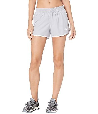 adidas M20 Shorts (Halo Silver/White) Women