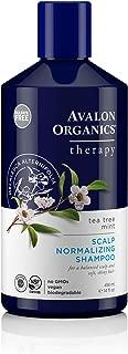 Avalon Organics Tea Tree Mint Scalp Normalizing Shampoo, 14 oz.
