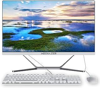 MECHAZER Z1 PC Computadora de escritorio todo en uno de 23.8 pulgadas Intel Core i5-3340M (hasta 3.4GHz) Windows10 Pro,8GB...