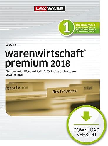 Lexware warenwirtschaft premium 2018 Download Jahresversion (365-Tage) [Online Code]