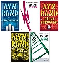 Ayn Rand Novel Collection 5 Book Set