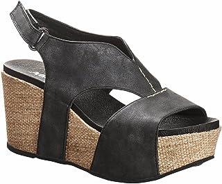 037603cf0ae7 Antelope Women s 855 Metallic Leather V Cut Texture Sandals