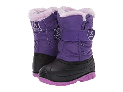 Kamik Kids Snowbugf (Toddler) (Purple Print) Girl
