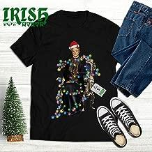 Violet-Christmas Lights Santa Noel Merry Xmas Customized T-Shirt Hoodie/Long Sleeve/Tank Top/Sweatshirt