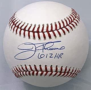Jim Thome Autographed Baseball - White Sox Twins Phillies W 612 HR Beckett Witnessed - Autographed Baseballs