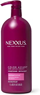 Nexxus Hair Color Assure Conditioner For Color Treated Hair with ProteinFusion, Color Hair Conditioner 33.8 oz
