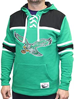 Philadelphia Eagles NFL Skate Lace Pullover Hooded Sweatshirt