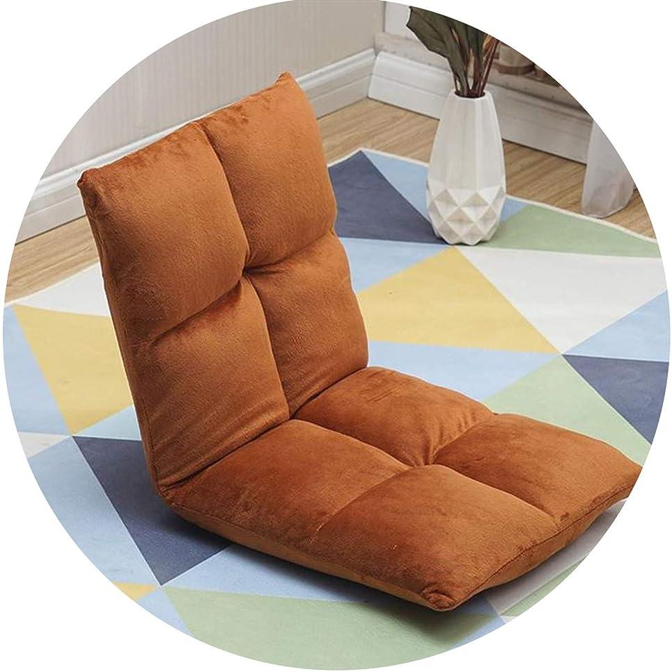 差思いやりのある巨人怠惰なソファ畳の寮 のクッションチェアシングルベッドの背もたれの折り畳み式,ヴィンテージイエロー3小8グリッド