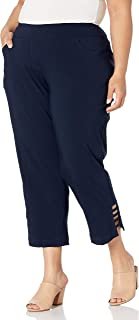 SLIM-SATION womens M9038PW Casual Pants