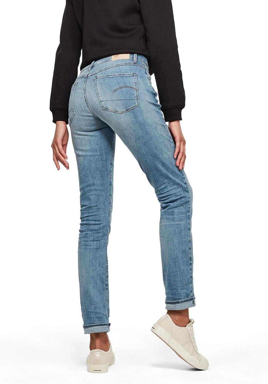 G-STAR RAW 3301 Mid Friend RP 7//8 Wmn Jeans Donna