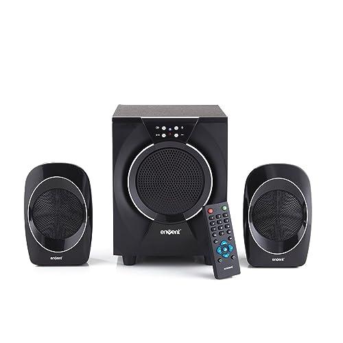 Envent Deejay 310 Multimedia Home Audio Speaker (Black)