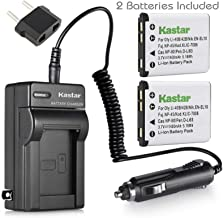 Kastar Battery (2-Pack) and Charger Kit for Nikon EN-EL10 MH-63 Work with Nikon Coolpix S60, S80, S200, S210, S220, S230, S500, S510, S520, S570, S600, S700, S3000, S4000, S5100 Cameras