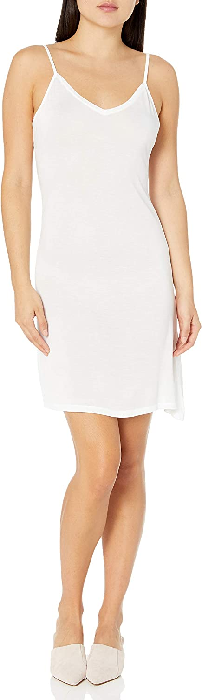 Majestic Ranking TOP3 Large-scale sale Filatures Women's Viscose Dress Slip Cami