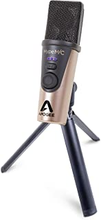 Apogee Hype Mic - USB Microphone with Analog Compression for Capturing Vocals & Instruments, Streaming, Podcasting, Gaming