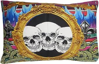 Insanity kleding gotische Multi vlammen schedel sl...