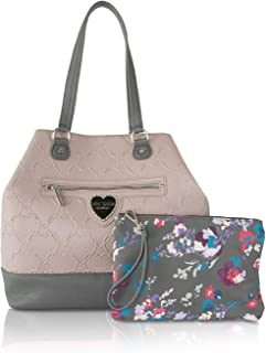 Betsey Johnson Womens Trap Tote