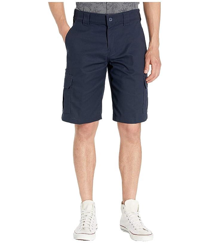 Dickies 11 Cargo Work Active Waist Shorts Regular Fit (Dark Navy) Men