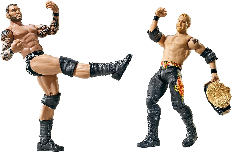 en promociones de estadios WWE - Catch - Figurines articulées - Série Série Série Double Pack 16 -Christian VS Randy Orton  ahorra 50% -75% de descuento