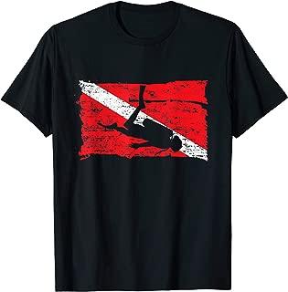 Scuba Dive Flag tshirt for Divers