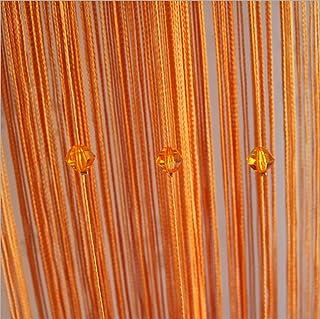 Cortina Panel, 100 x 200 cm Purpurina cortinas para salon cuerdas para puerta cortina de