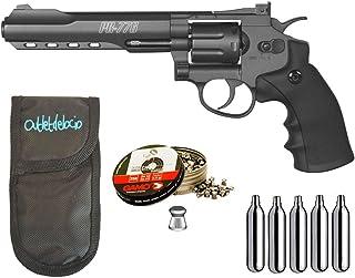 Revolver Perdigón Gamo PR-776. Calibre 4,5mm. + Funda