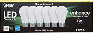 Feit Electric Led 60W Replacement Soft White, 6 Count